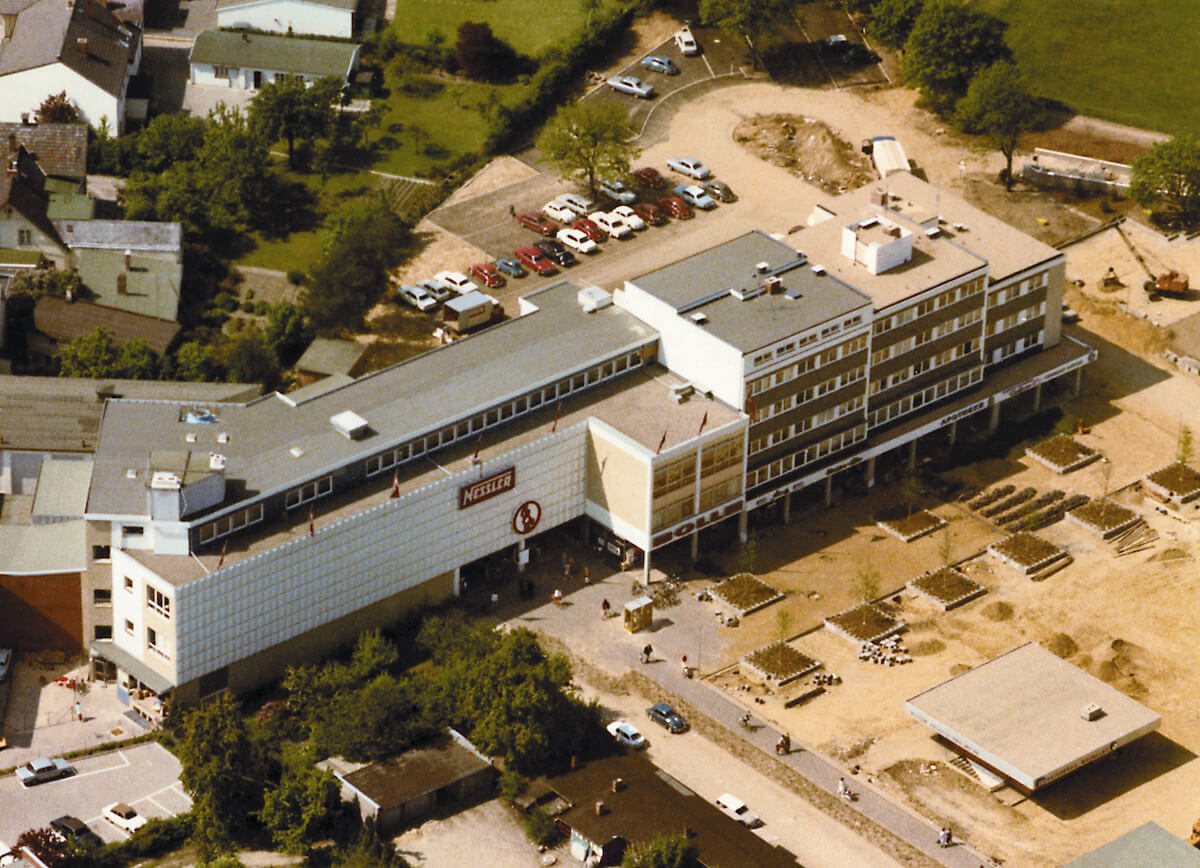 Kaufhaus Nessler Ahrensburg im Jahr 1968