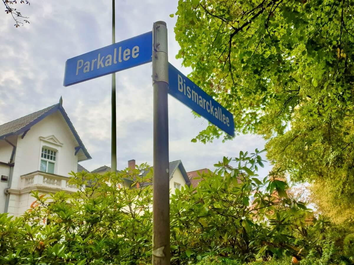 Parkallee Ecke Bismarckallee in Ahrensburg –Foto: Nicole Schmidt