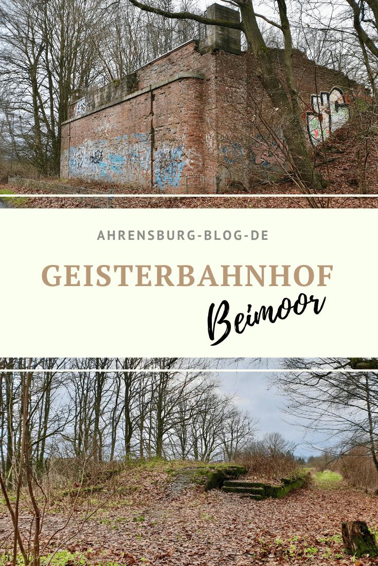 Geisterbahnhof Beimoor, Großhansdorf – Fotos: Nicole Schmidt