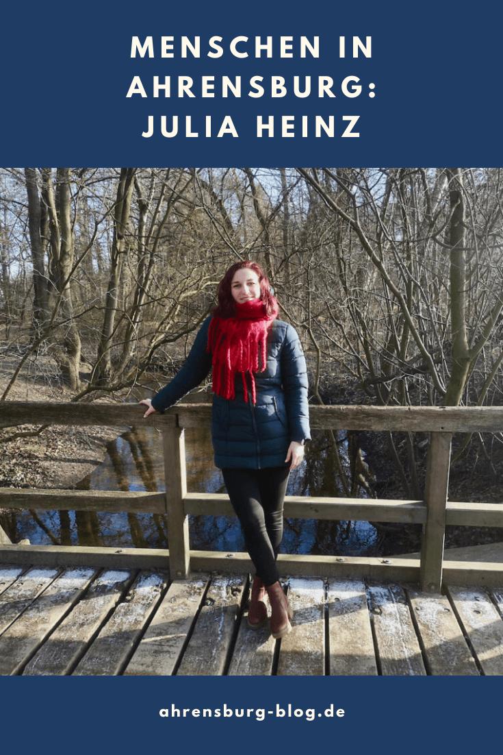 Julia Heinz lebt im Erlenhof in Ahrensburg – Foto: privat