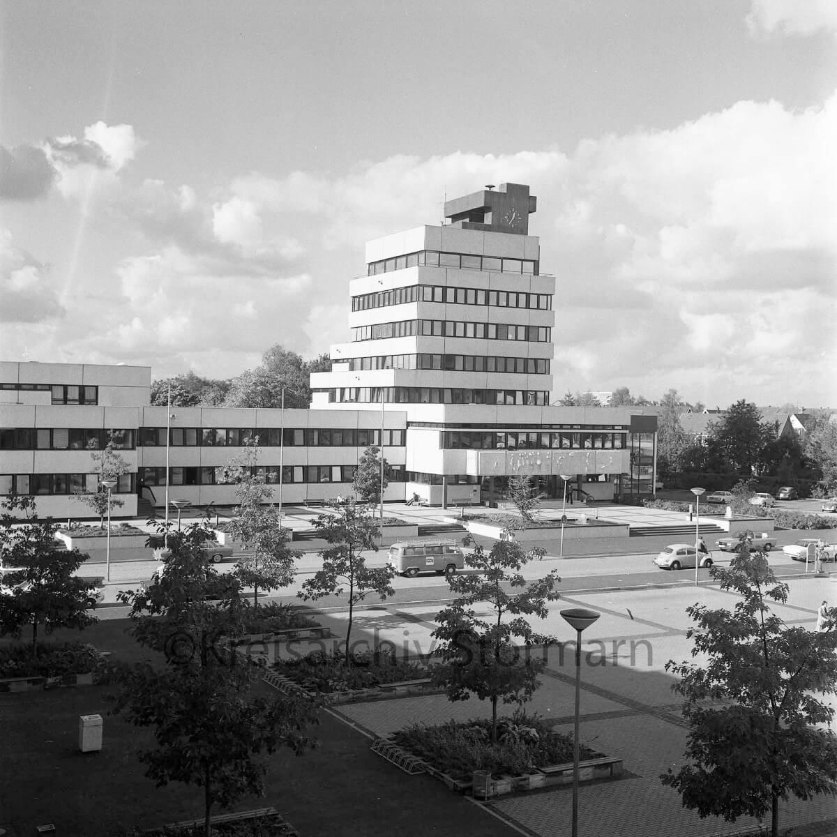 Rathaus Ahrensburg 1983 –Foto: Kreisarchiv Stormarn / Raimund Marfels