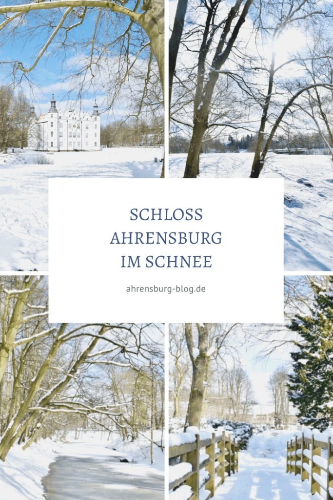 Schloss Ahrensburg im Schnee –Fotos: Nicole Schmidt