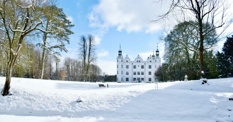 Schloss Ahrensburg im Schnee