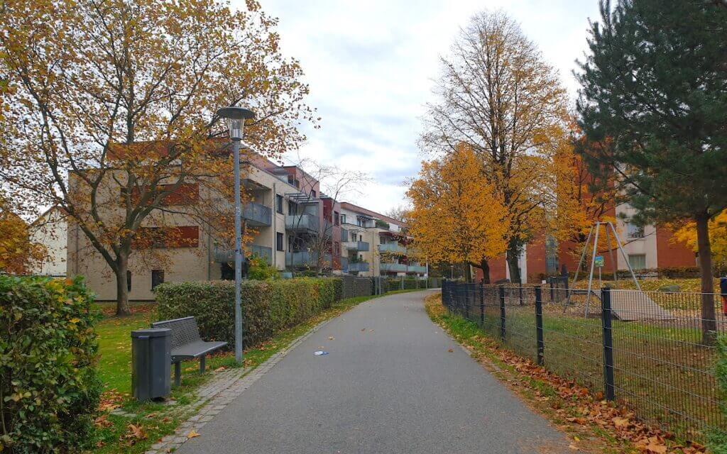 Rund um die Hermann-Löns-Straße gibt es viele Genossenschaftswohnungen –Foto: Nicole Schmidt