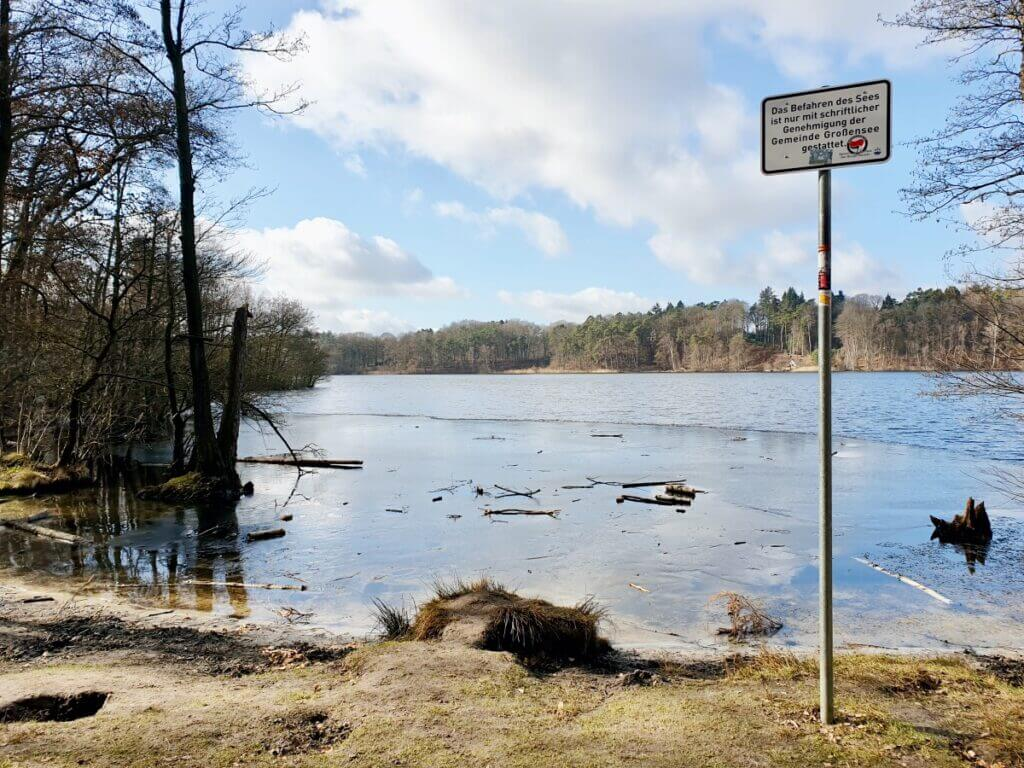 Großensee, Februar 2021 – Foto: Nicole Schmidt