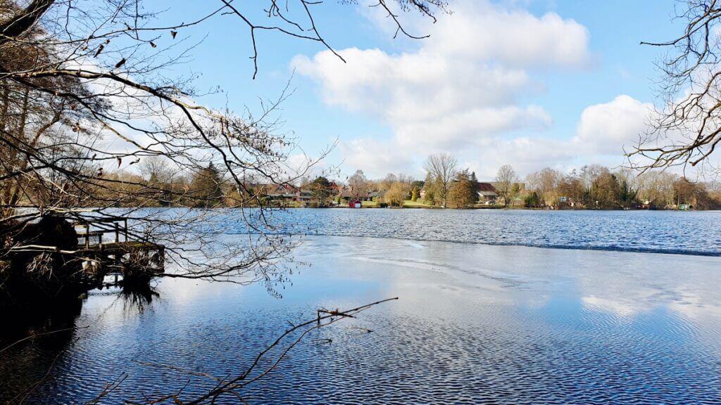 Der Großensee im Februar – Foto: Nicole Schmidt