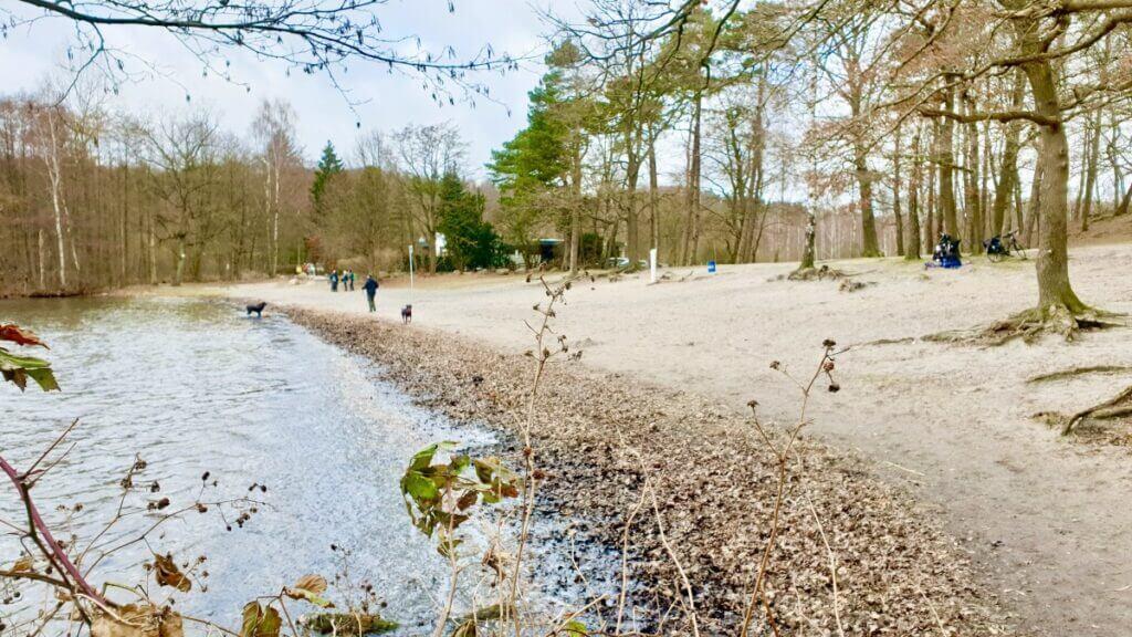 Der Nordstrand am Großensee liegt offiziell in Lütjensee – Foto: Nicole Schmidt