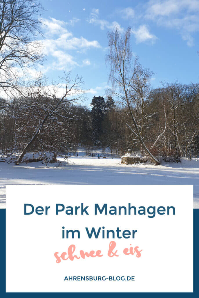 Park Manhagen im Winter Pinterest