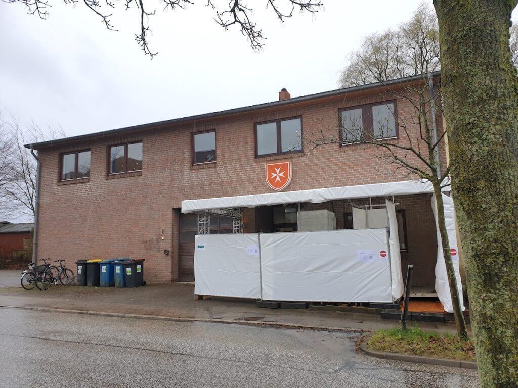 Malteser Hilfsdienst in Ahrensburg, Corona-Testzentrum – Foto: Nicole Schmidt