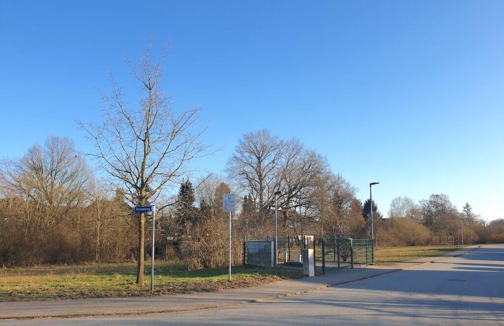 Der Hundeauslauf Buchenweg, Ecke Rosenweg –Foto: Nicole Schmidt