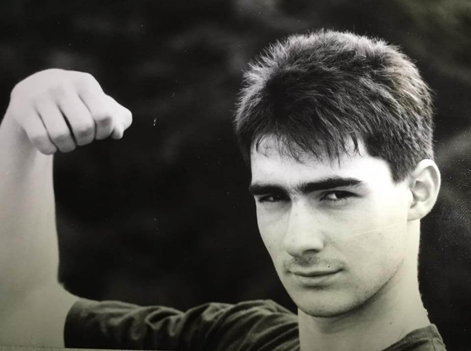 Boris Georgiev ca. 1988 –Foto: Nicole Schmidt
