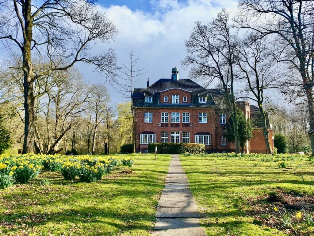 Narzissen blühen am Haus der Natur in Ahrensburg – Foto: Nicole Schmidt