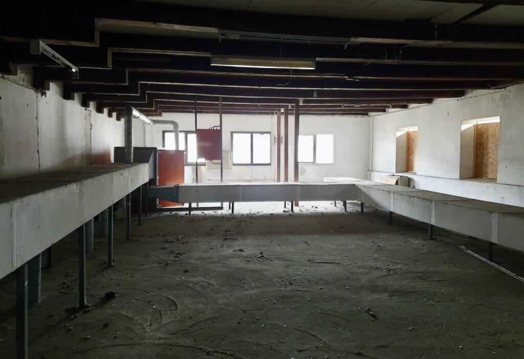 Der alte Speicher in Ahrensburg, 1. Etage, Heizungsrohre – Foto: Nicole Schmidt