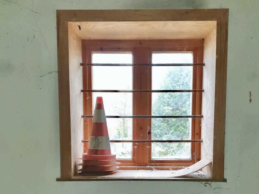Speicher Ahrensburg, Fenster im Erdgeschoss – Foto: Nicole Schmidt