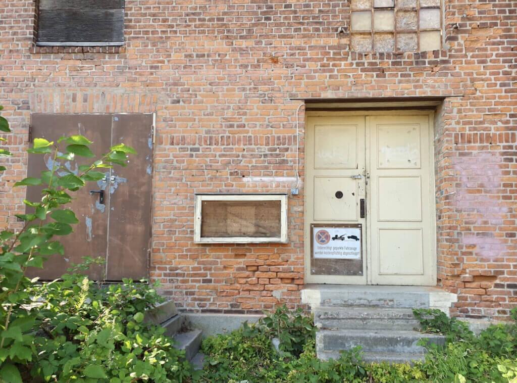 Speicher Ahrensburg, Eingang –Foto: Nicole Schmidt