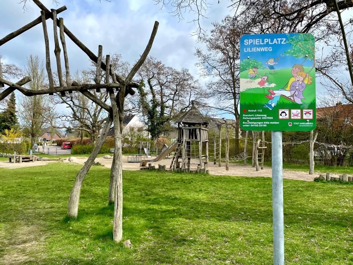 Der Spielplatz Lilienweg
