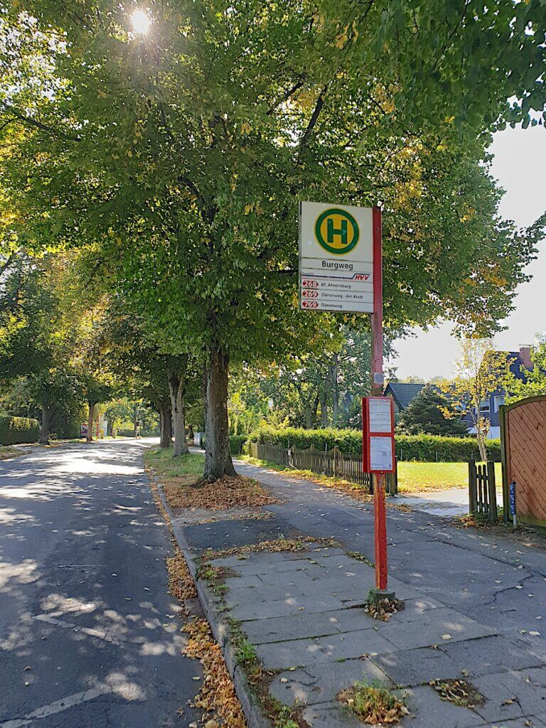 Bushaltestelle an der Hagener Allee –Foto: Nicole Schmidt