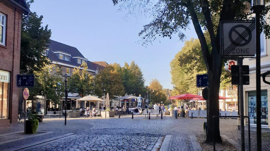 Blick auf das Rondeel in Ahrensburg im Jahr 2019 –Foto: Nicole Schmidt