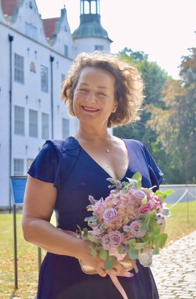 Nicole Schmidt, Hochzeit, Schloss Ahrensburg – Foto: Jan Bockholt