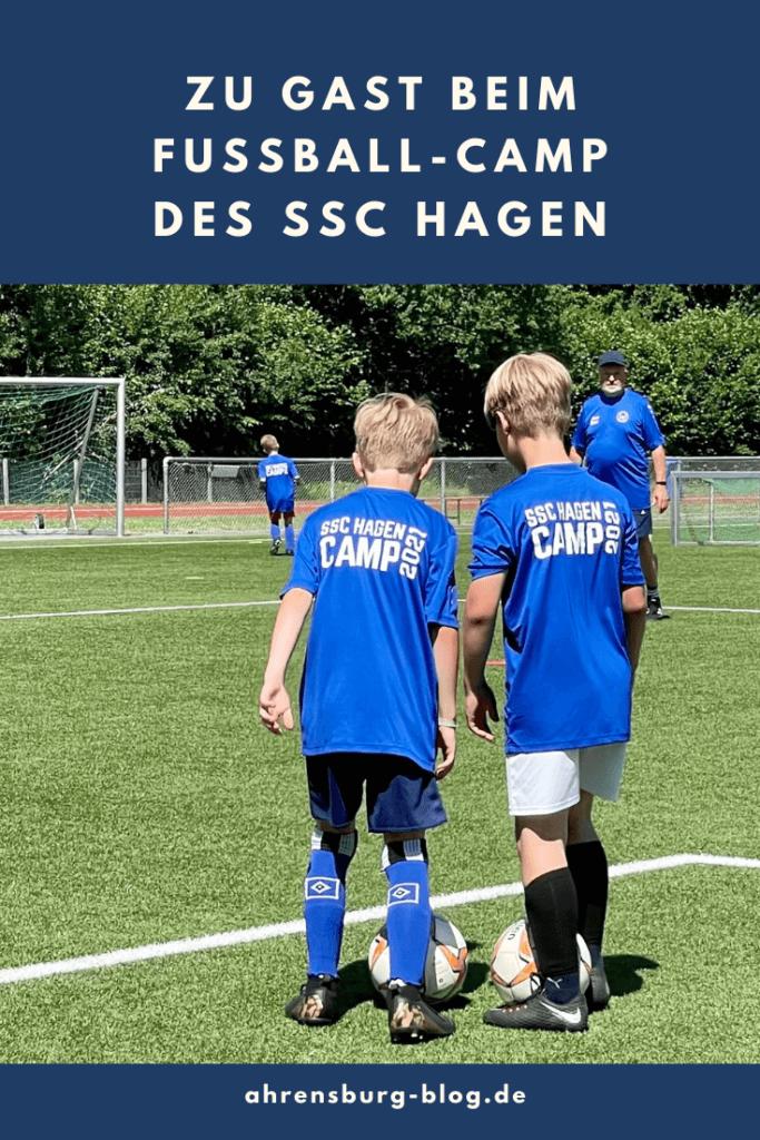 Beim Fußball-Camp des SSC Hagen Ahrensburg – Foto: Nicole Schmidt