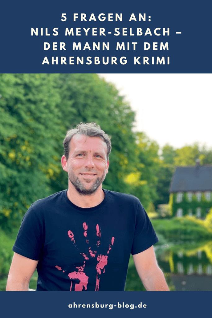 Nils Meyer-Selbach möchte den ersten Ahrensburg-Krimi veröffentlichen – Foto: Nicole Schmidt