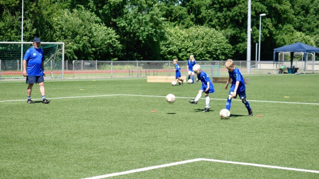 Fußballcamp des SSC Hagen Ahrensburg 2021 – Foto: Nicole Schmidt