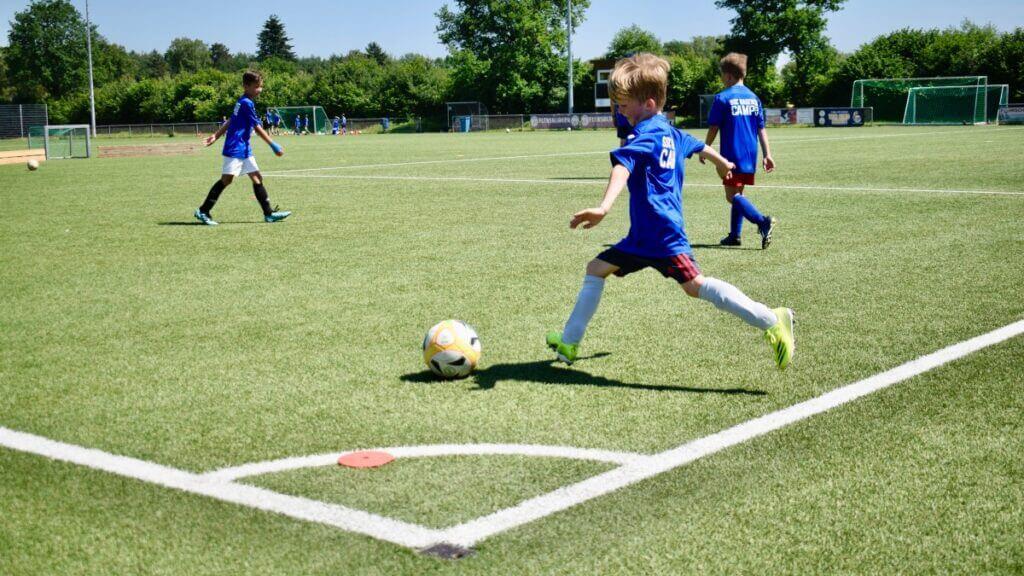 Fußballcamp SSC Hagen Ahrensburg 2021 – Foto: Nicole Schmidt