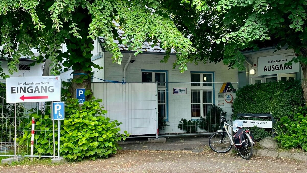 Das Impfzentrum Bad Oldesloe ist in der Jugendherberge untergebracht – Foto: Nicole Schmidt